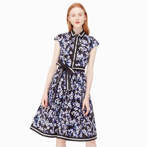 316fee3e4ac0d kate spade Dresses & Skirts - Kate Spade Hydrangea Shirt Dress